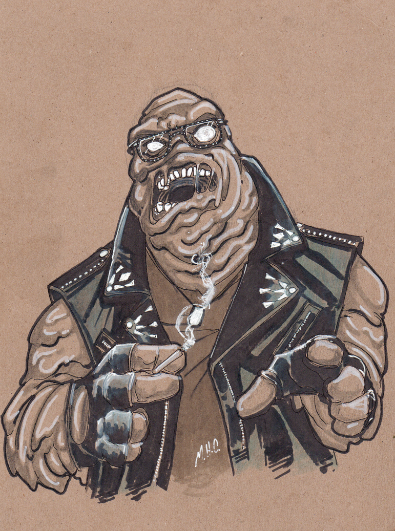 Andrew Dice Clayface by artildawn