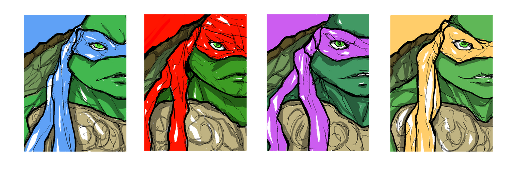 Ninja-Turtles by TimCrock4