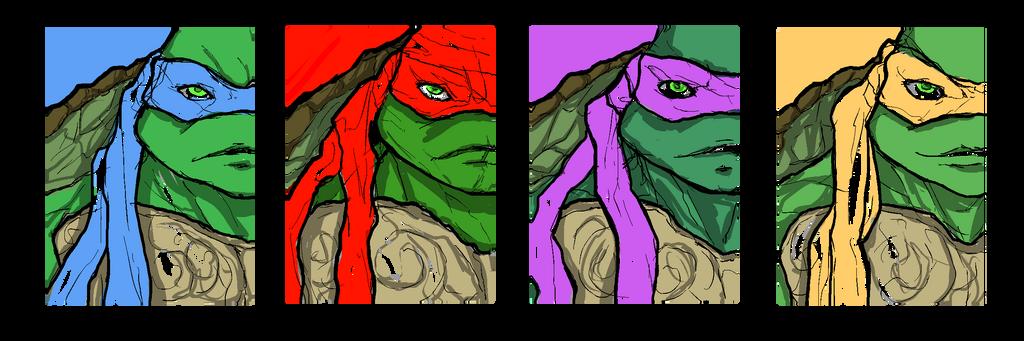 Ninja-Turtles by TimCrock4
