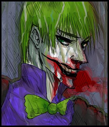 Joker.Batman.Rain. by TimCrock4