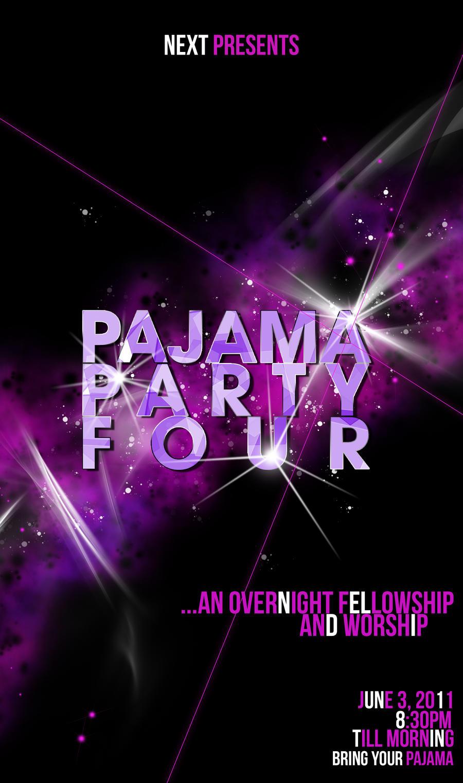 pajama party flyer juve cenitdelacabrera co