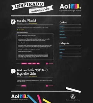 Inspirado - Internal Blog