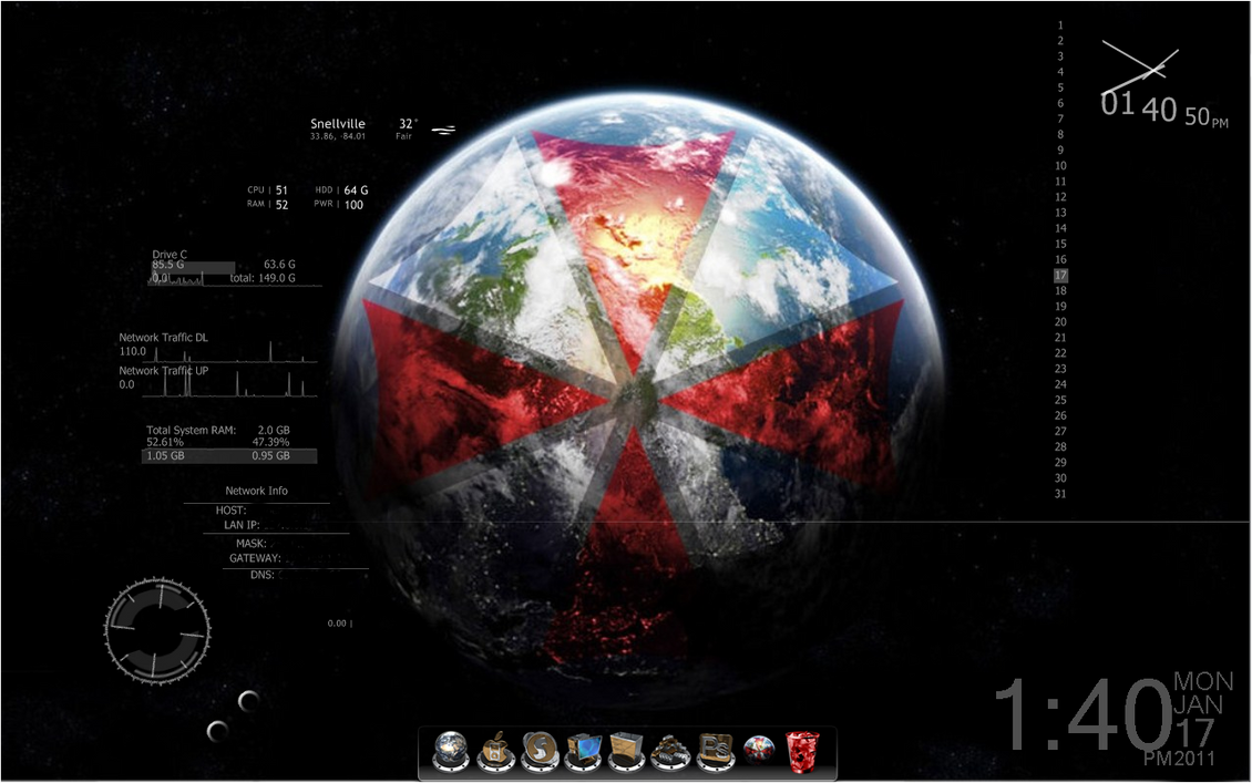 Umbrella Corporation Theme Download - Free Download Umbrella
