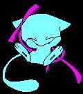 Alex - The Shiny Female Mew     no adopt by Sparkle--Chu