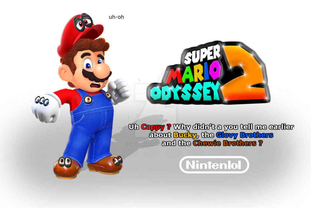 Super Mario Odyssey 2 Leaked Poster By Vinvinmario On Deviantart