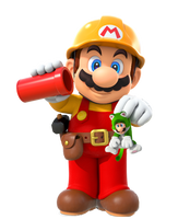 Super Mario Maker 2 Mario Full Body Art by VinVinMario
