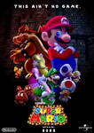 Super Mario 2022 Movie Illumination Concept Poster
