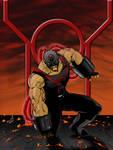 Red Lantern Bane finished