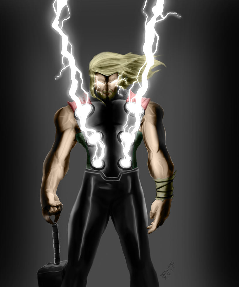 Thor Colored by jwientjes