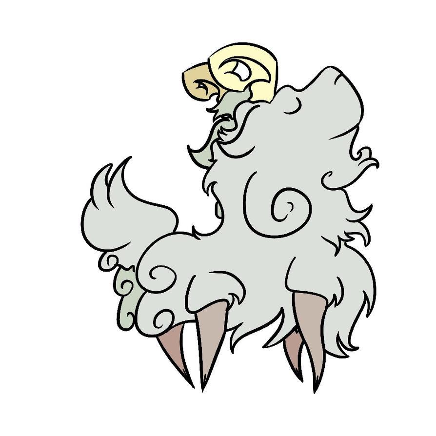 A Little Goat  by blo-deewedd