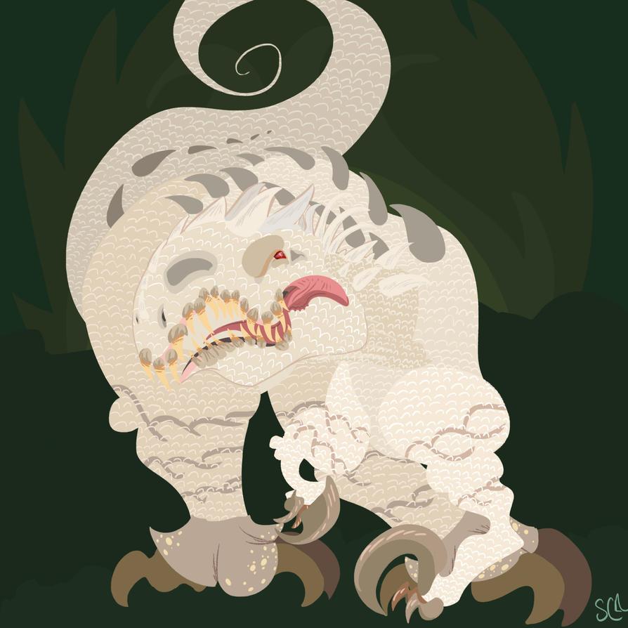 INdominus Rex by blo-deewedd