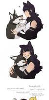 Zwei is a good doggo, and he deserves lovu by NaitouRSE