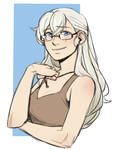 Casual!Weiss