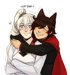 Weiss and Faunus!Rubbles