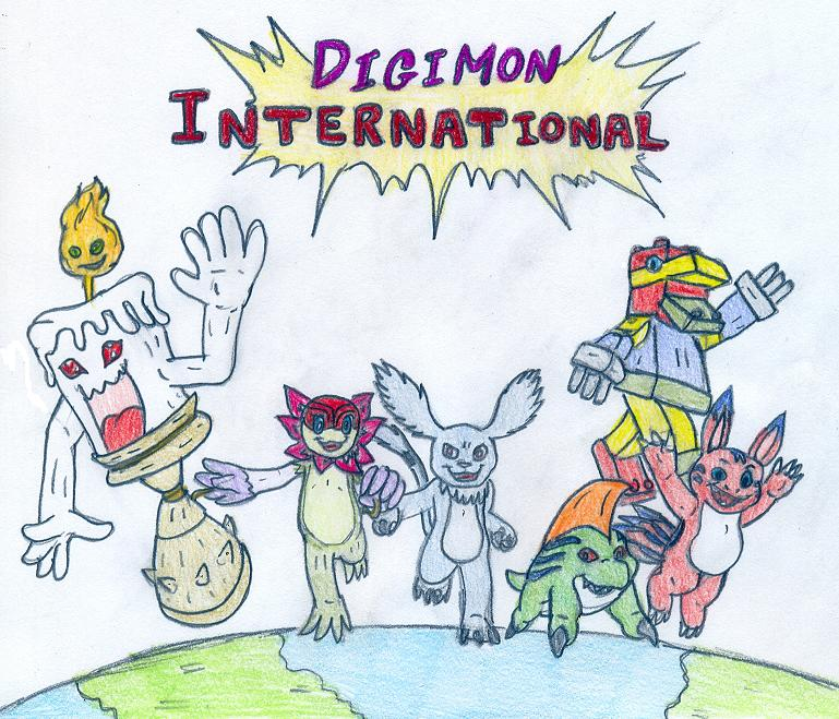 Digimon International: Episode 4 by Tinyhammer