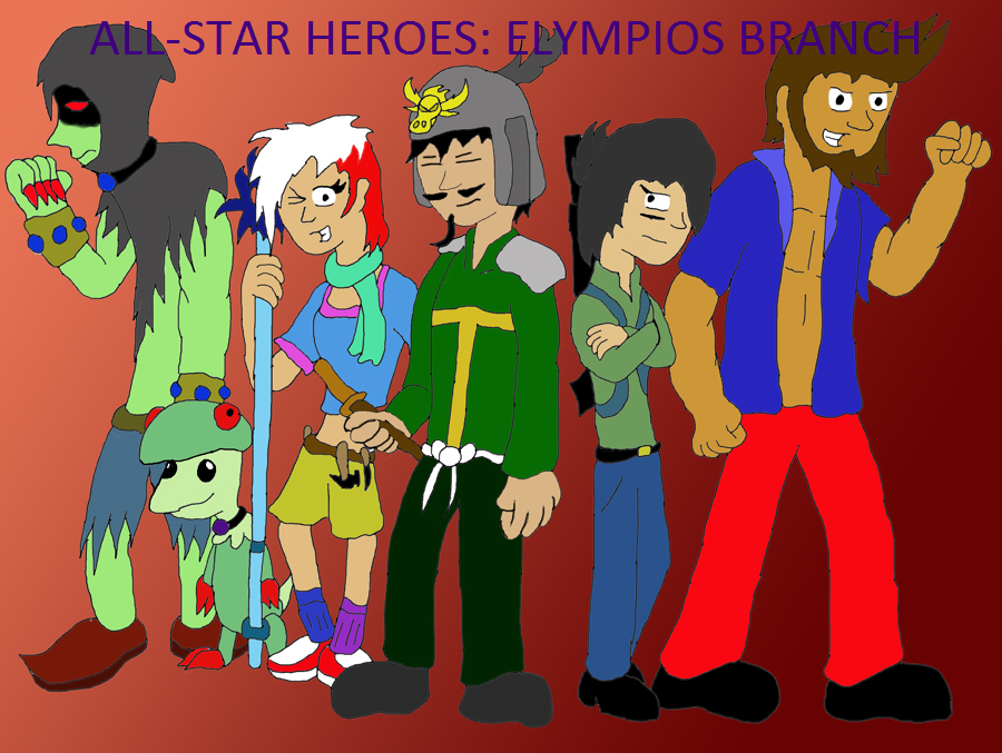 All-Star Heroes: Elympios Branch Title Page by Tinyhammer