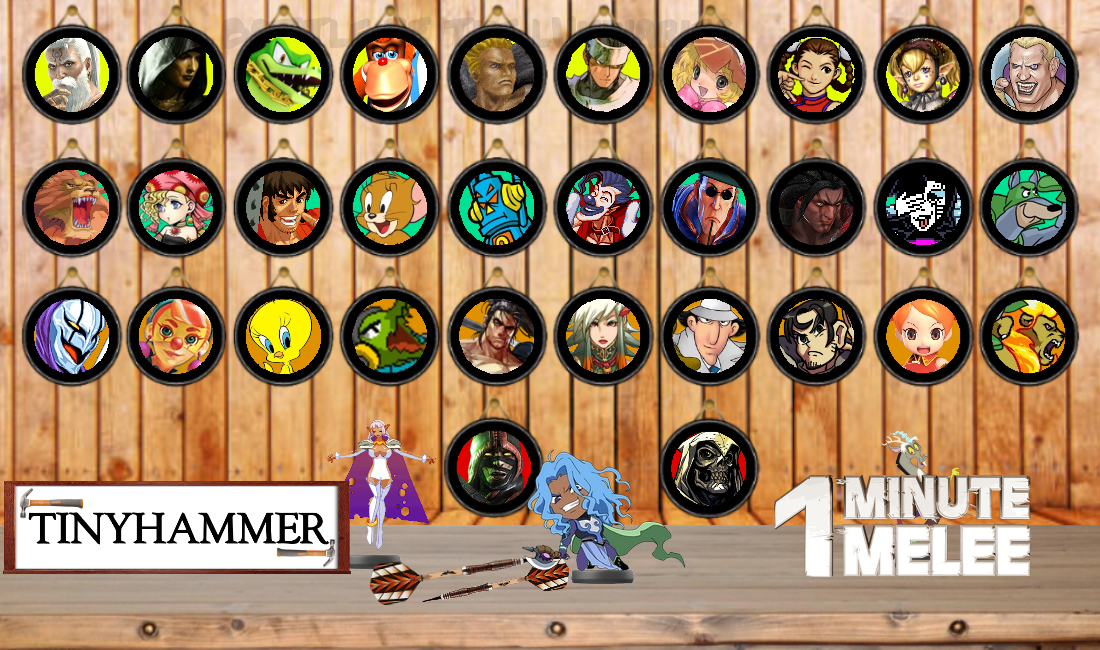 One-Minute Melee Season 5 Roster by Tinyhammer