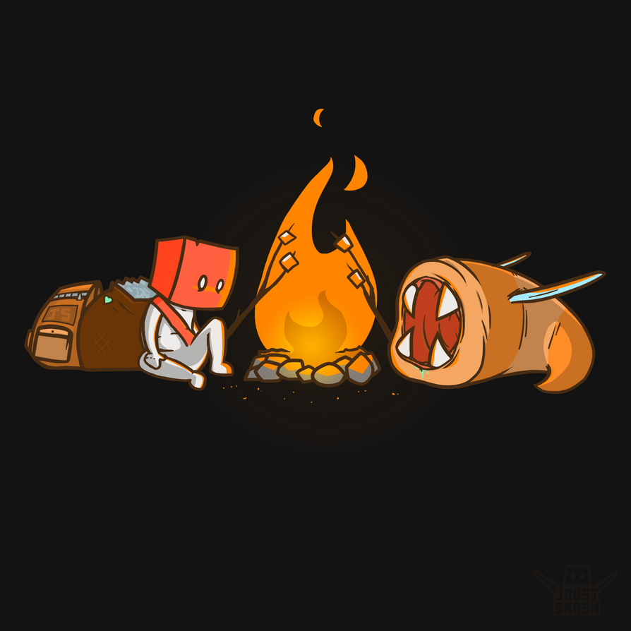 Resting at the campfire by StopSignal