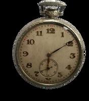 Clock by gestandene
