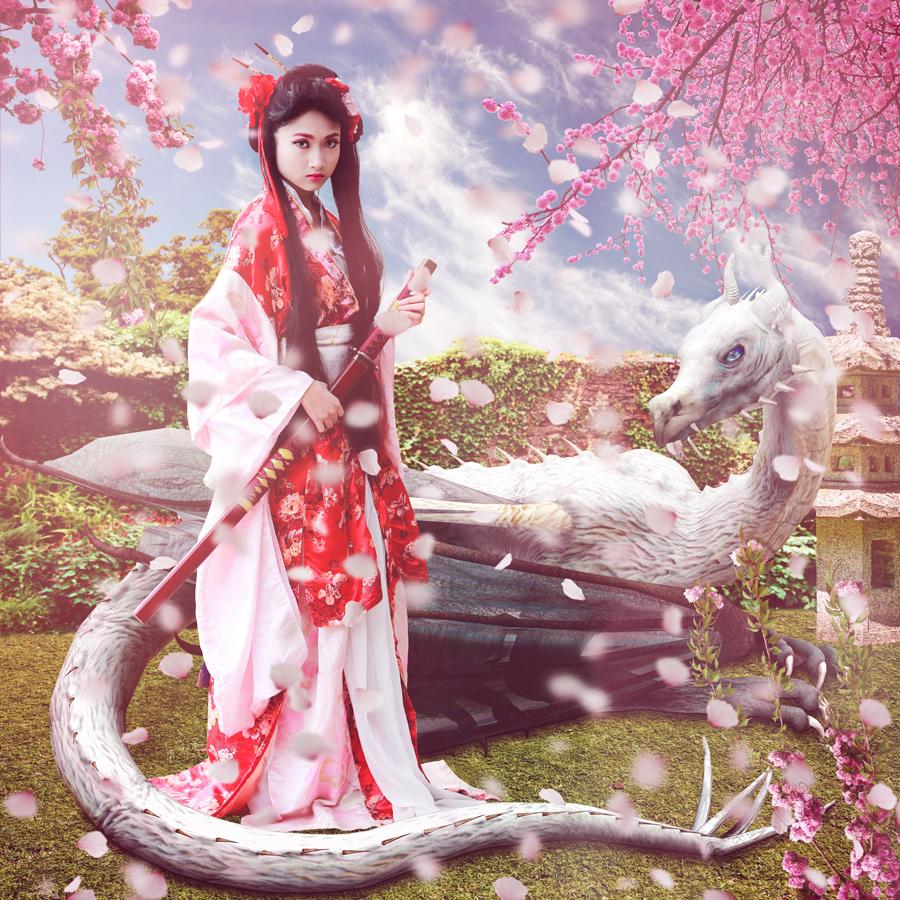 Japanese Samurai Princess