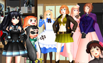 [MMD] i Would meet Nyo Ally Ladies..