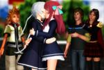 [MMD] Showa And Heisei in Kisses!