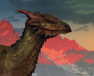Dragon by Wieszcza
