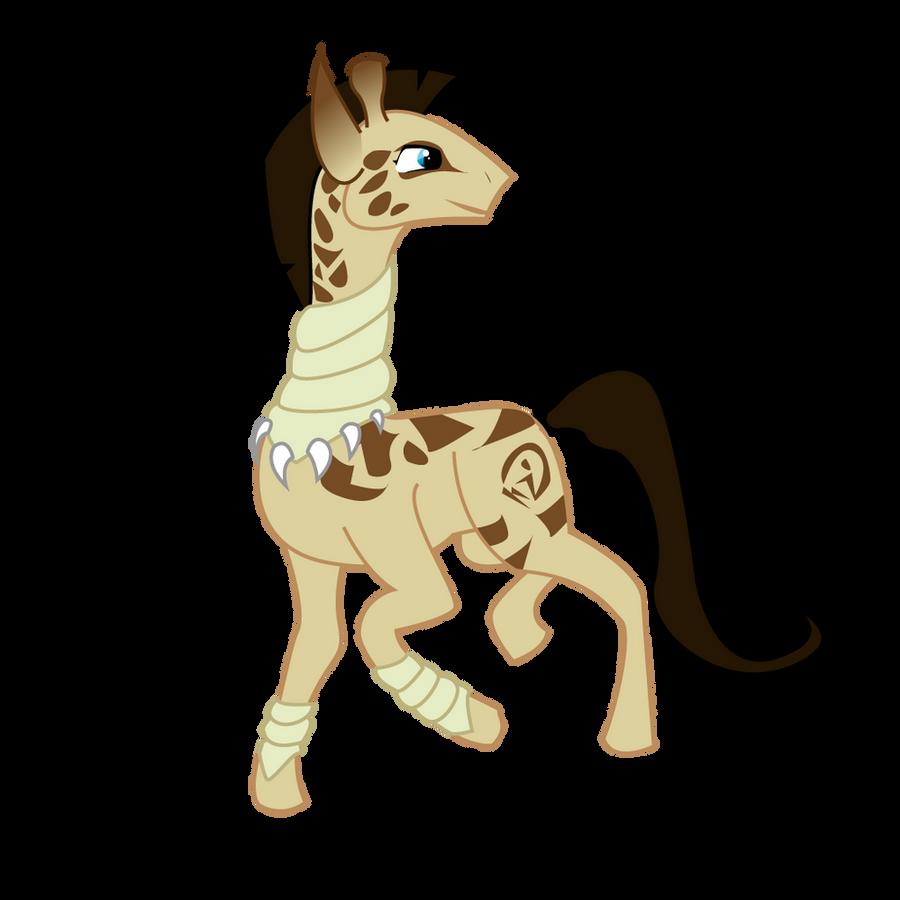 Kirefu -- MLP FIM Giraffe by Katlyon