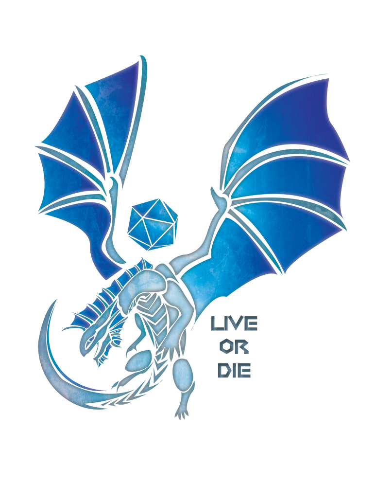 Live or Die - Silver Dragon by Katlyon