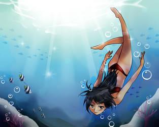 Underwater by krazie4anime