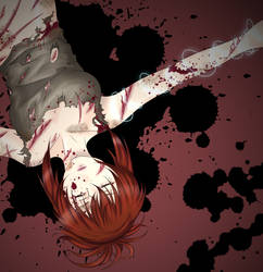 Blood soaked sauna by krazie4anime