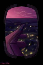Airplane View by GabisMe