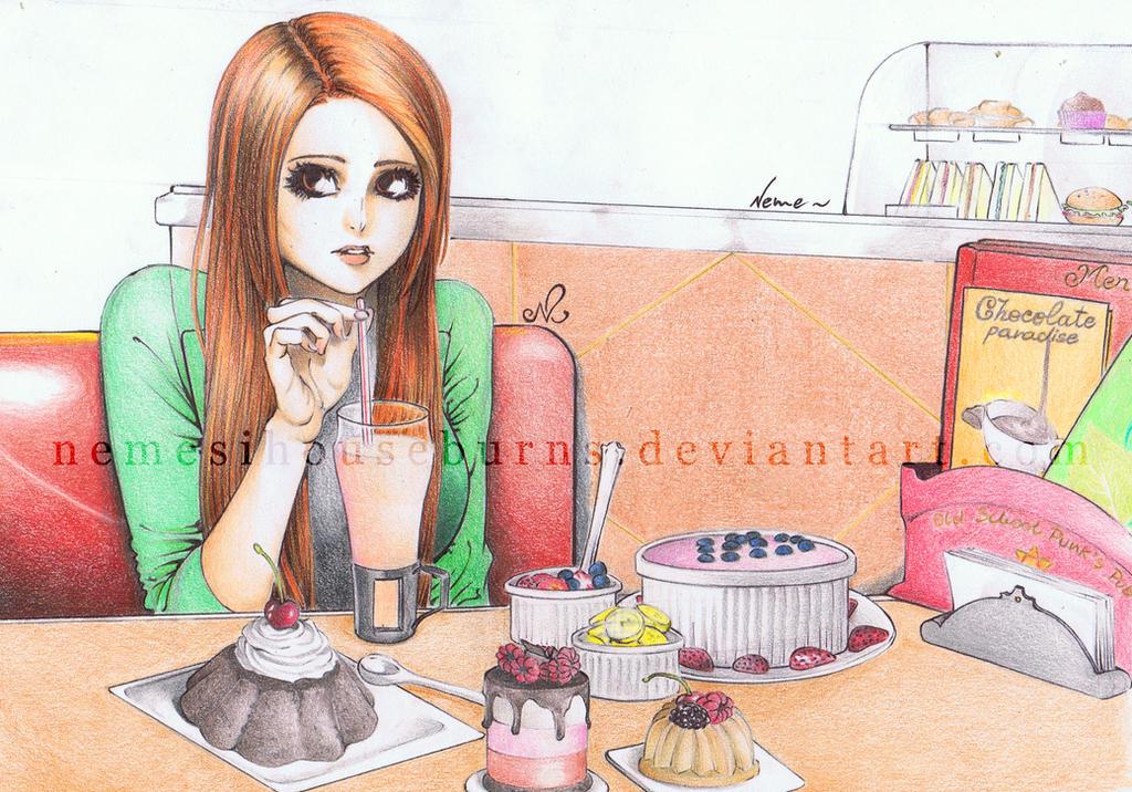 Bleach - About a girl by NemesiHouseburns