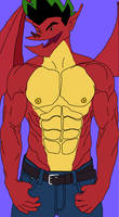 Jake Long Dragon Muscle
