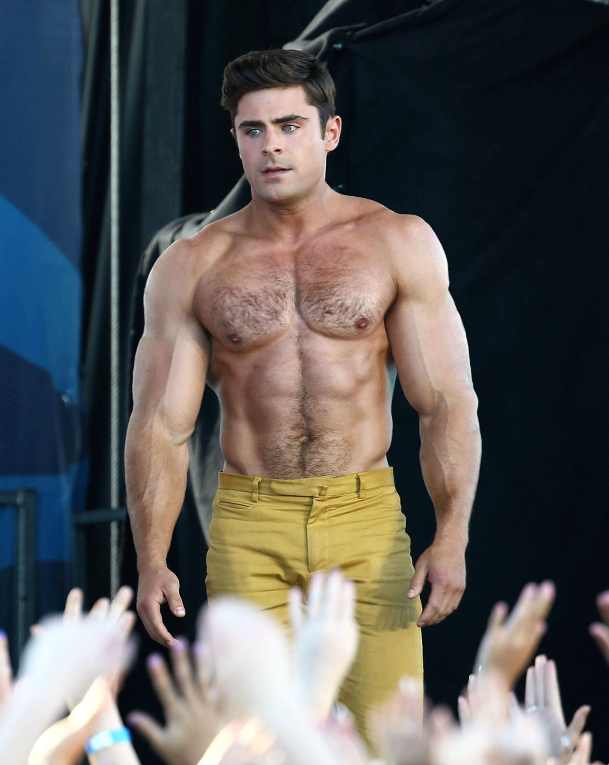 Zac Efron Muscle 23