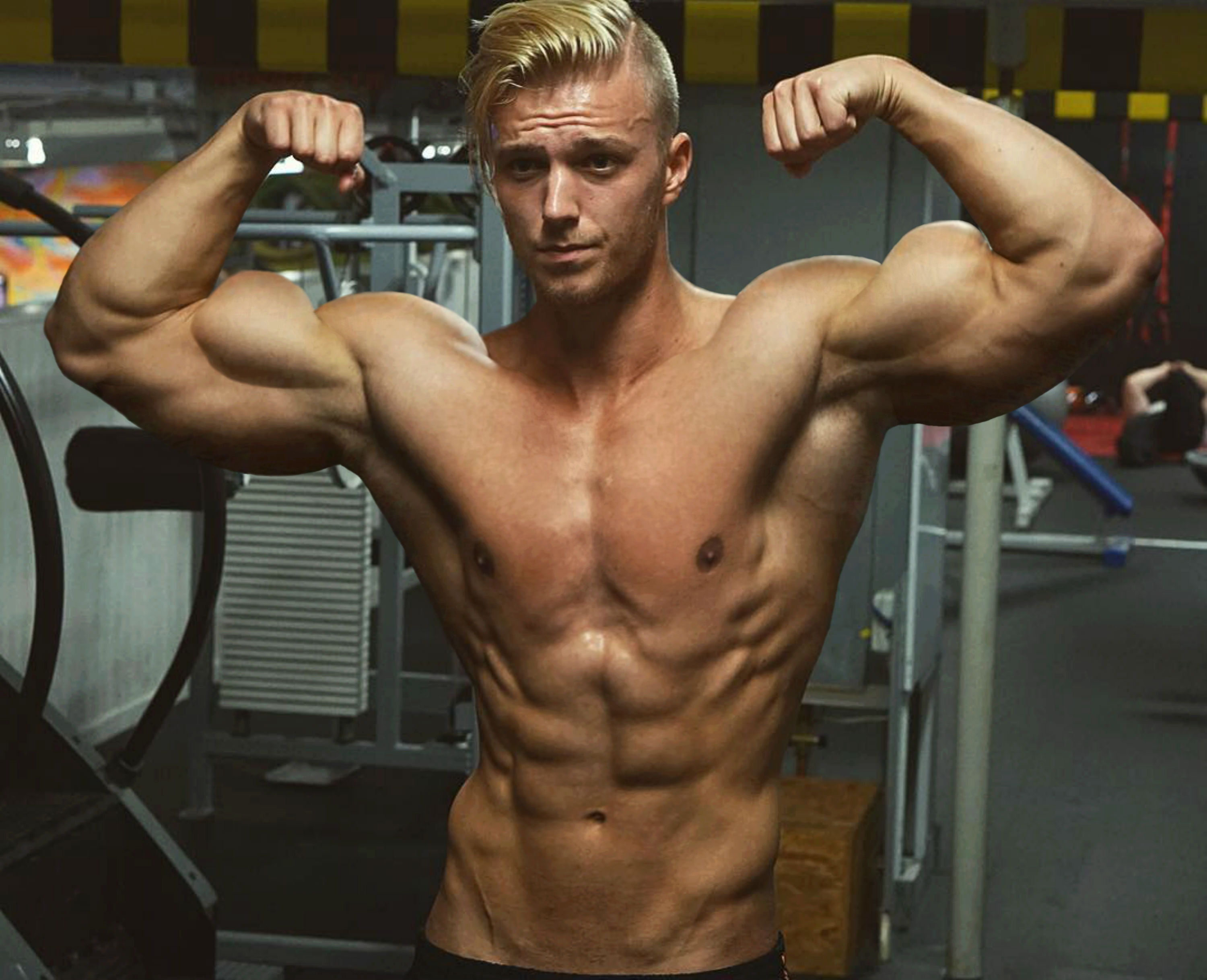 Teen Muscle Flexing 119
