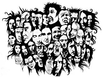 A Mosaic of Faces by dev-o-chris