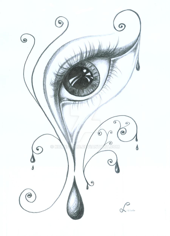 Drawing A Teardrop: Tear By Kornblume On DeviantArt