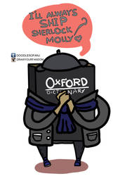 Oxford Dictionary ships Sherlolly! by doodlesofanj