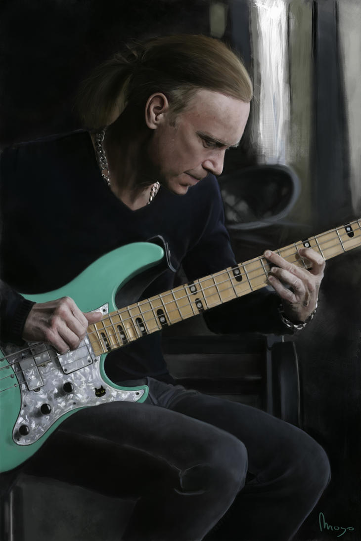 Billy Sheehan by Zansen