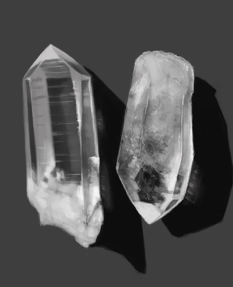 Quartz Crystal by Zansen