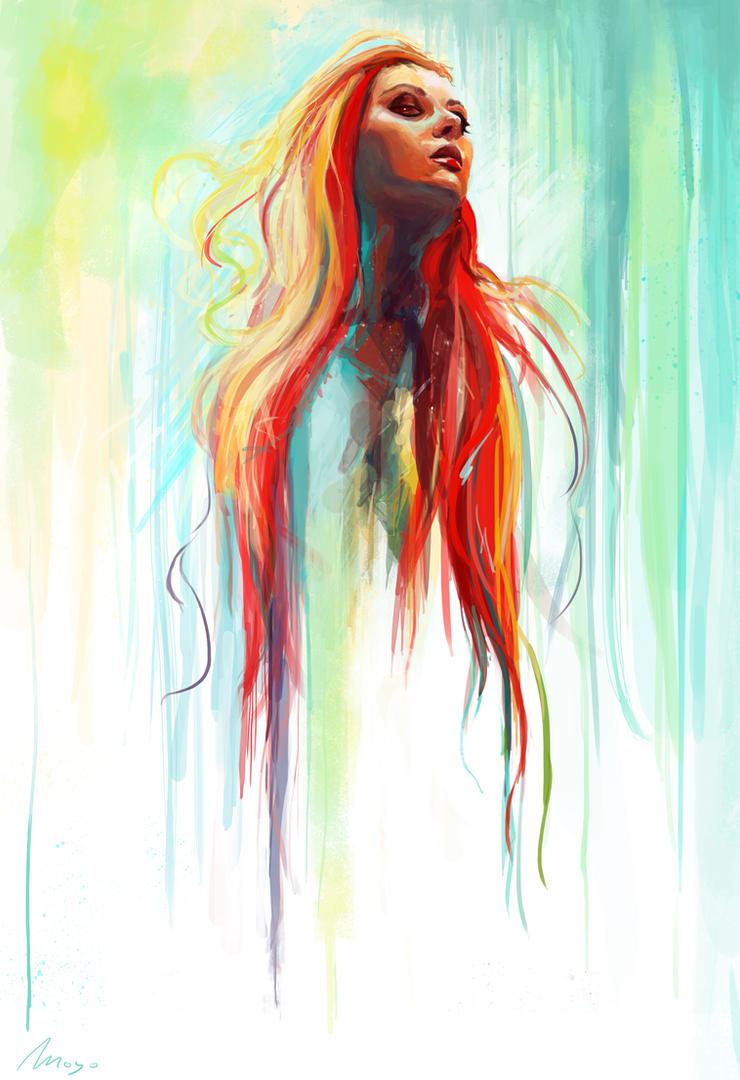 Watercolor By Zansen On DeviantArt