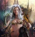 Warrior Queen wip