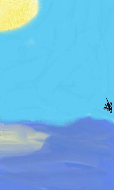 Ocean scene  by turtleopp