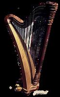 Stock Objekt Harfe by 1989juni