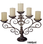 Objekt stock Kerzenhalter