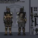 Carbon Fiber ARC Trooper Phase 1 Clone Trooper
