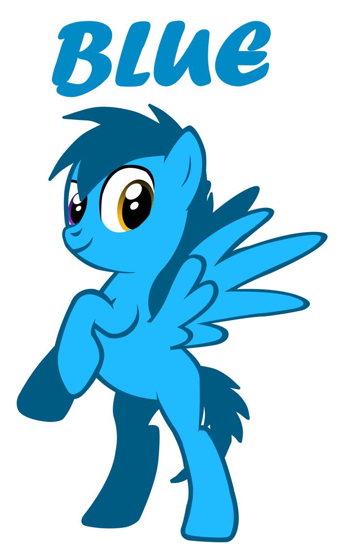Blue Pony by FLIPPYROXSHTF