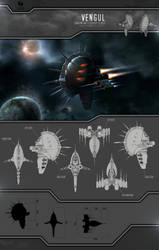 'Vengul' Sansha Battleship by Plumsbuggy