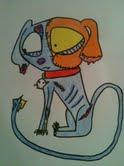 Lizzy the dead dog by misunderstood-gwen